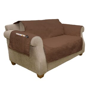 Waterproof Quilted Box Cushion Loveseat Slip..