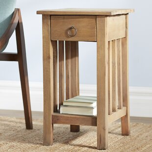 Plattsburgh Narrow End Table by Loon Peak