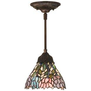 Tiffany Wisteria 1-Light Cone Pendant by Meyda Tiffany