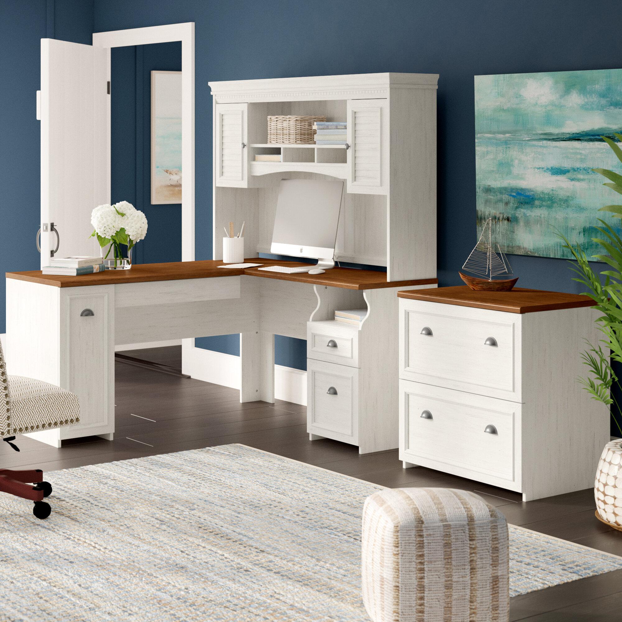 Oakridge 2 Piece Office Set With Hutch