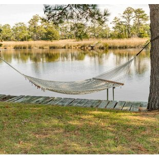 Highland Dunes Hallatrow Cotton Tree Hammock