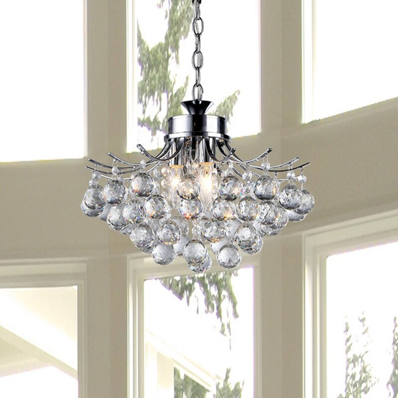 Warehouse of tiffany boadicea 3 light crystal chandelier reviews boadicea 3 light crystal chandelier aloadofball Images