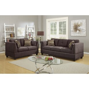 Donovan 2 Piece Living Room Set by Alcott Hill
