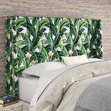 Whitman Tufted Upholstered Wingback Headboard by Beachcrest Home™