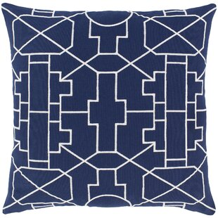 Dasher Cotton Throw Pillow Cover by Zipcode Design Read Reviews