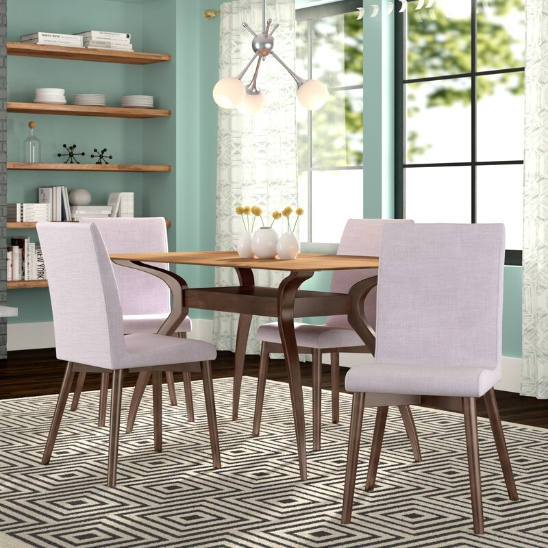Charmant Dougal 5 Piece Dining Set