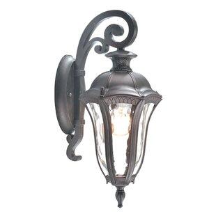 Top Reviews Sutton 1-Light Outdoor Wall Lantern By Beldi