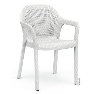 Carver Stacking Dining Arm Chair by Lechuza