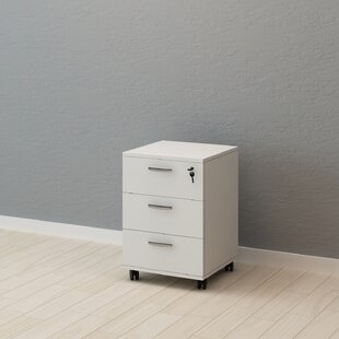 Busey 3 Drawer Filing Cabinet By Rebrilliant