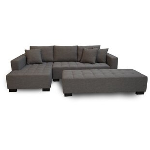 Fit Sectional with Ottoman Modern Design International
