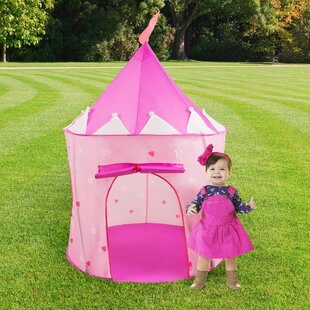 Princess Castle Kids Pop-Up Play Tent & Kids Pop Up Tent | Wayfair