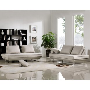 Cana Sleeper Living Room Set (Set of 2) by Orren Ellis
