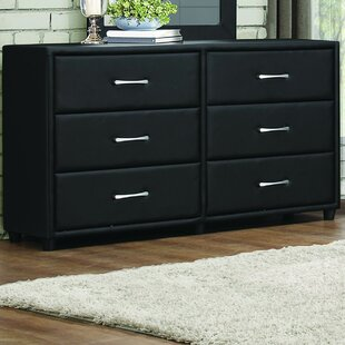 Amezcua 6 Drawer Double Dresser