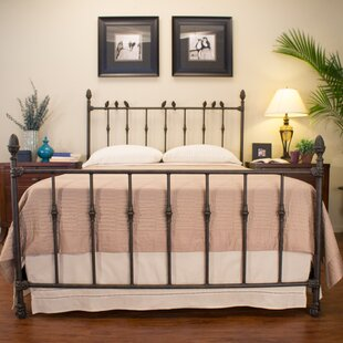 Georgetown Panel Bed by Benicia Foundry and Iron Works