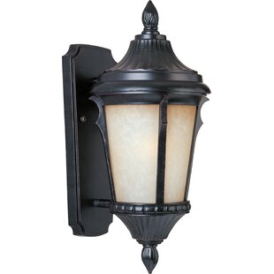 Buy luxury 1-Light Outdoor Sconce By Beachcrest Home