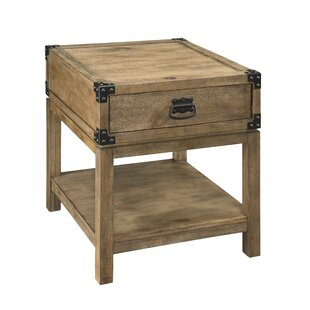 Chasity End Table with Storage