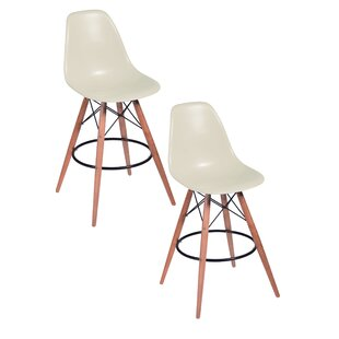 Deals Della Bar Stool (Set of 2) by Pangea Home Reviews (2019) & Buyer's Guide