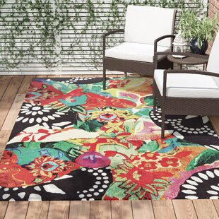 Florus Hand Woven Indoor/Outdoor Area Rug by World Menagerie Herry Up