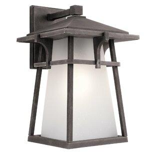 Totterdown LED Outdoor Wall Lantern by Brayden Studio
