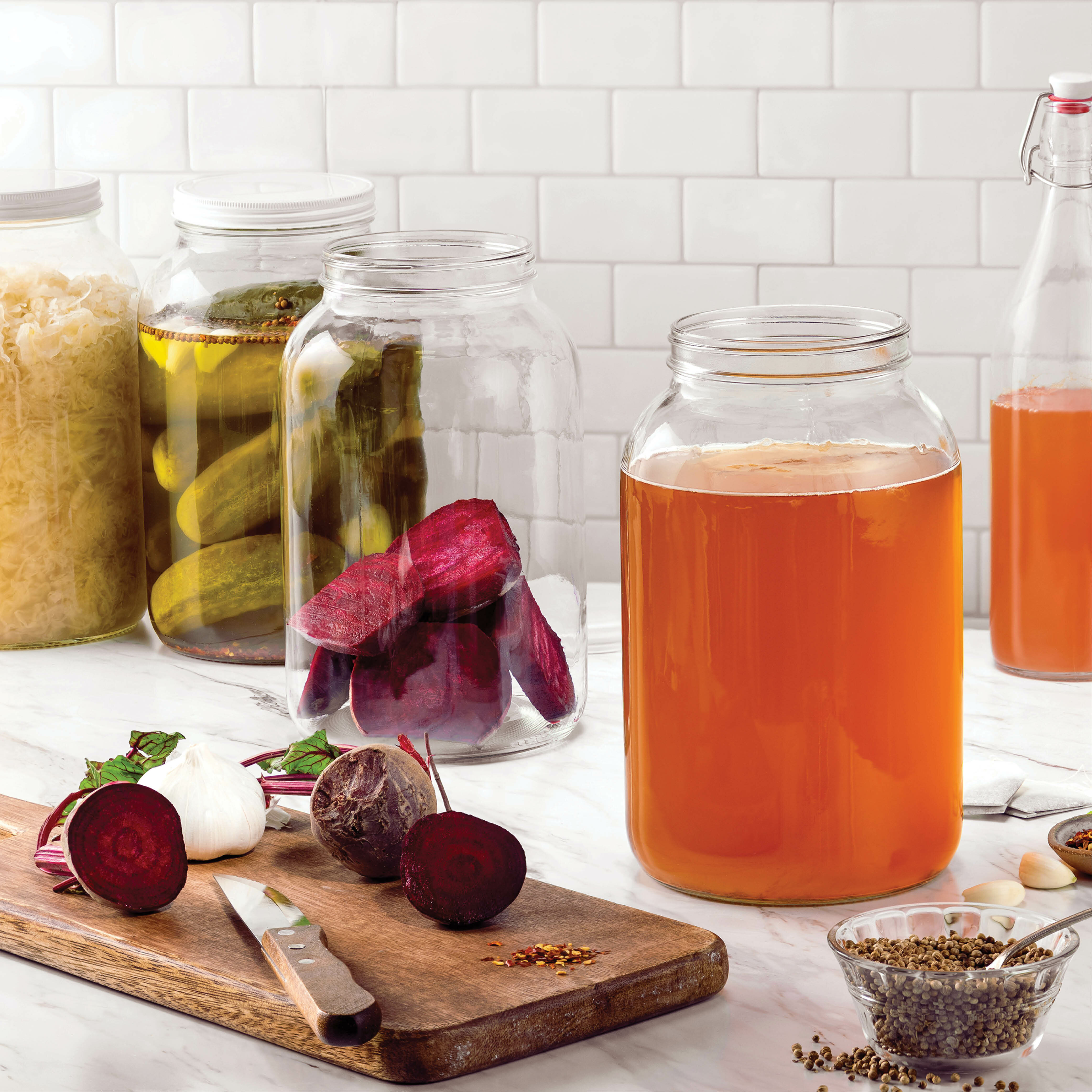 Pakshnovelty Wide Mouth 4 Piece Canning Jar Set Reviews Wayfair