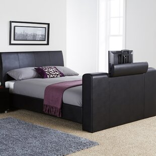 Braidwood Upholstered TV Bed by Wade Logan
