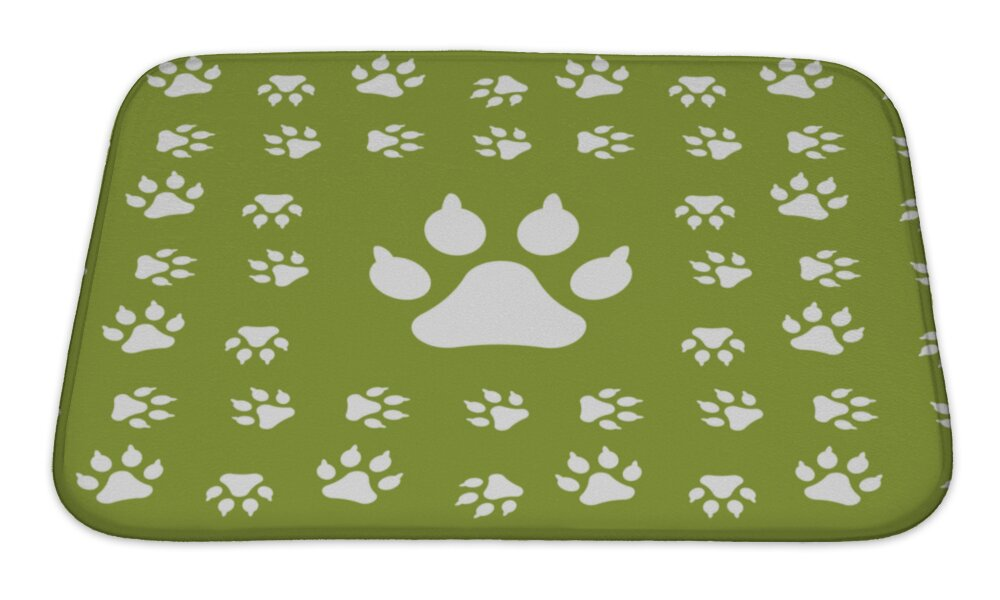 Ideal Dog Paw Print Rugs - Area Rug Ideas JI91