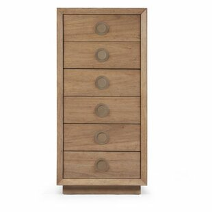 Yasmine 6 Drawer Accent Chest by Brayden Studio