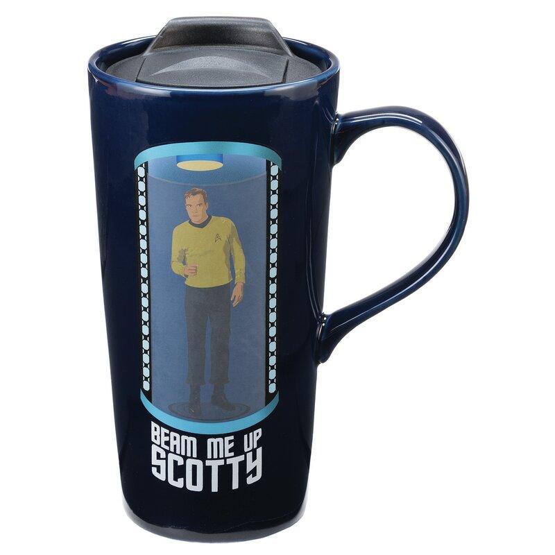 Vandor Star Trek 20 Oz Travel Mug Reviews Wayfair