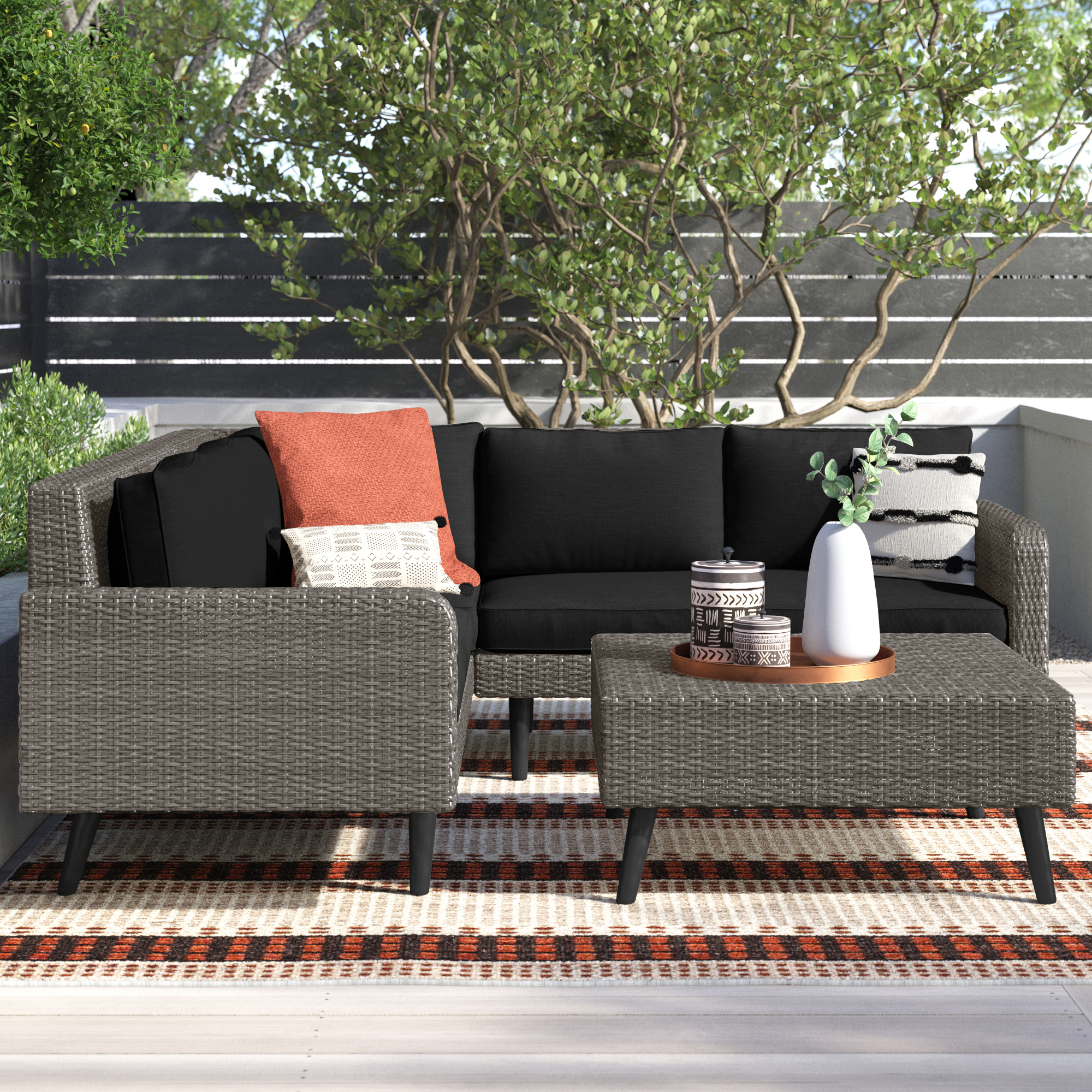Wicker Outdoor Furniture Joss Main