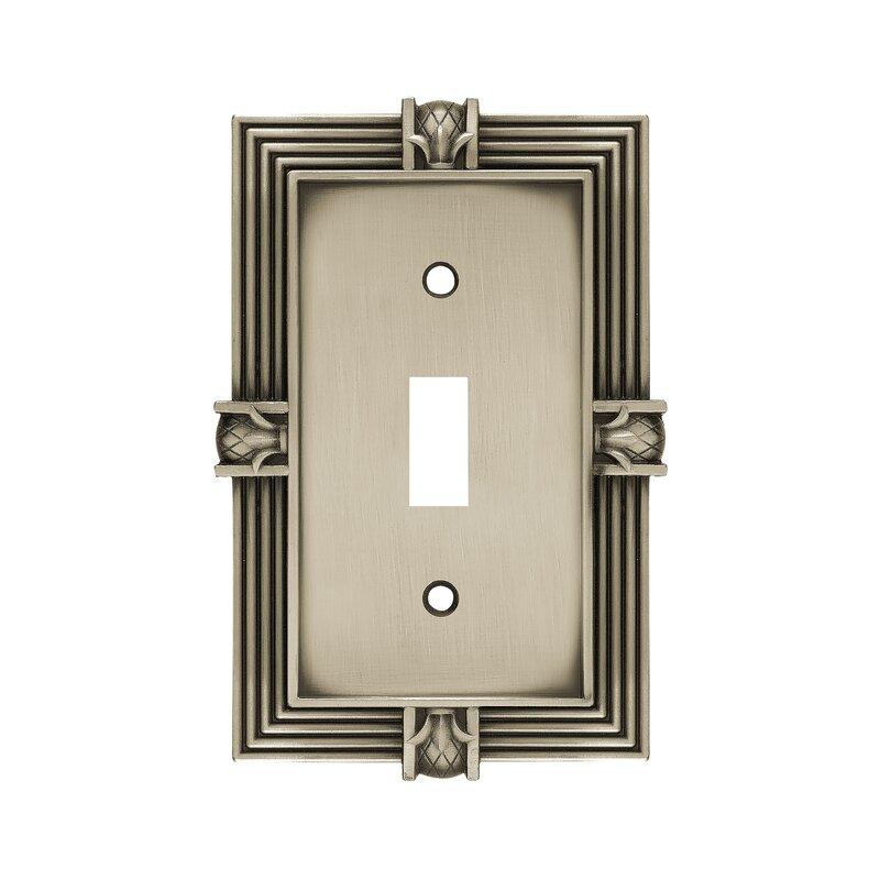 Franklin Brass Pineapple 1 Gang Toggle Light Switch Wall Plate Reviews Wayfair
