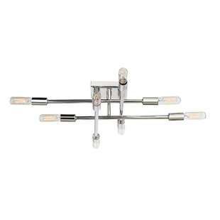 Whaleback 8-Light Semi Flush Mount by Trent Austin Design