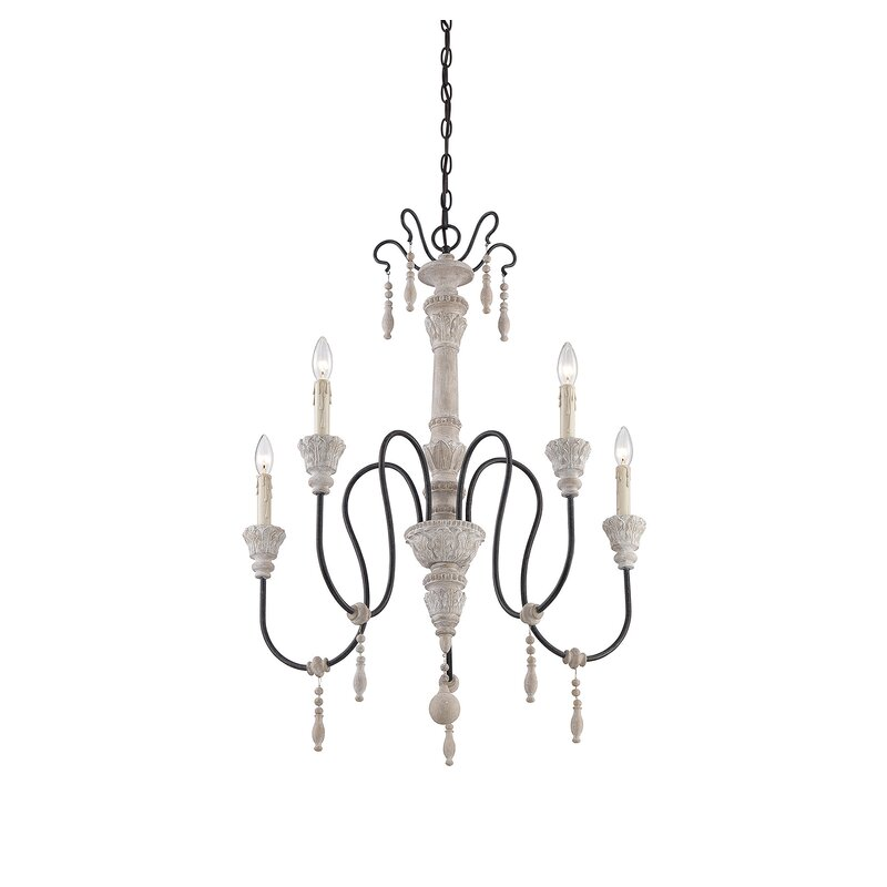 Corneau 5-Light Chandelier
