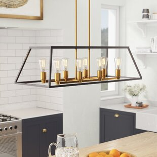 Mercury Row Shisler 8-Light Kitchen Island Pendant