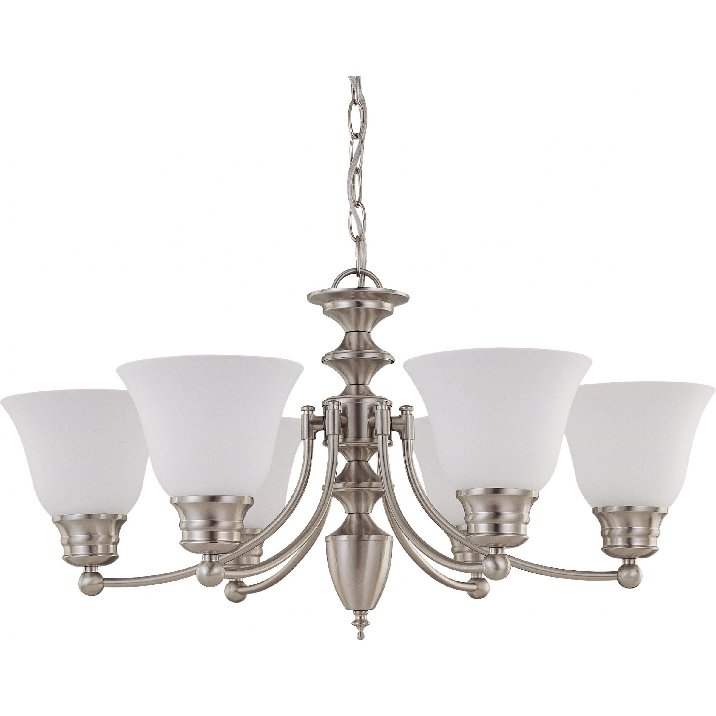 Charlton Home Poneto 6 Light Shaded Classic Traditional Chandelier Reviews Wayfair