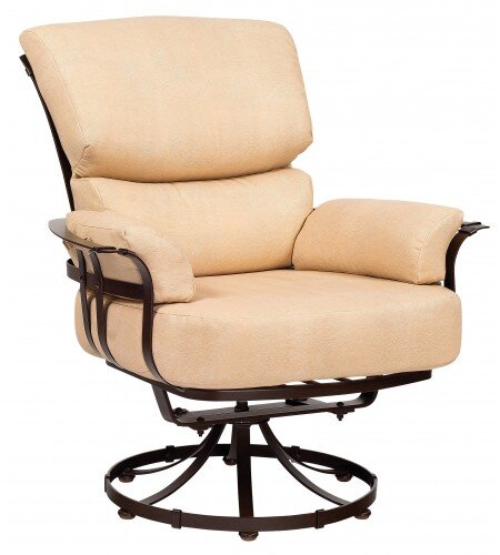 Atlas Swivel Patio Chair With Cushions