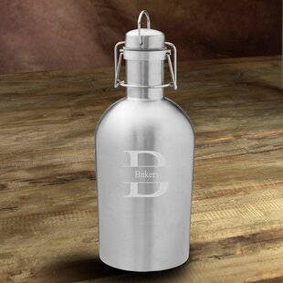 Weise Double Wall Insulated Stainless Steel 64 Oz. Growler by Latitude Run New Design