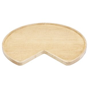 Wood Kidney Lazy Susan by Rev-A-Shelf