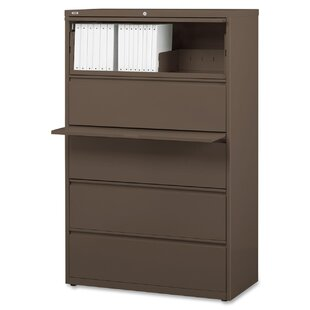 Lorell Fortress 4-Drawer Lateral File