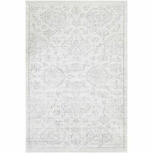 Comparison Glynn Hand-Loomed White/Black Area Rug ByAstoria Grand