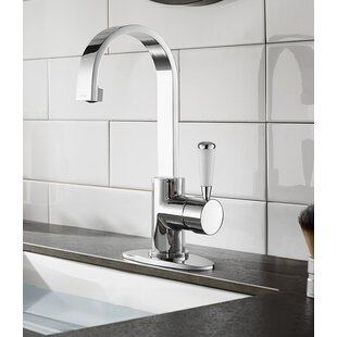 Affordable Paris Single Hole Bathroom Faucet with Drain Assembly ByKingston Brass