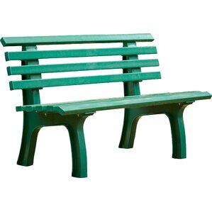 Resin Park Bench