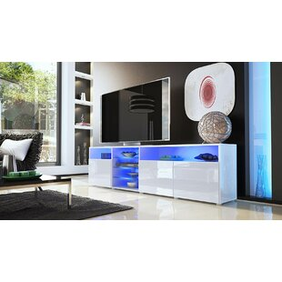 Buy clear Prieto Roma TV Stand for TVs up to 88 by Orren Ellis Reviews (2019) & Buyer's Guide