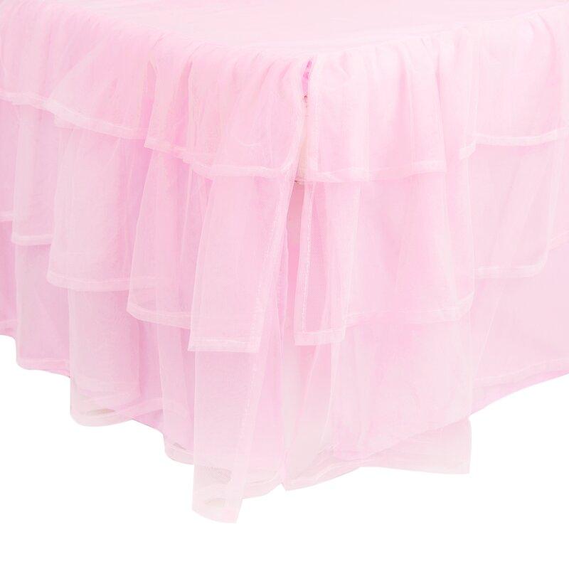 king tulle bed skirt