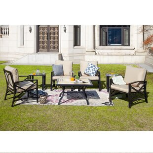 Javon 7 Piece Multiple Chairs Seating Group With Cushions By Longshore Tides