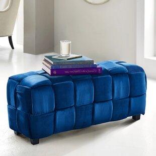 Cutlip Cube Ottoman by Ebern Designs