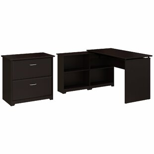 Hillsdale 2 Piece L-Shaped Desk Office Suite