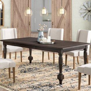 Laurel Foundry Modern Farmhouse Fortunat Extendable Dining Table