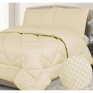 Hellwig Down Alternative Check Reversible Comforter Set