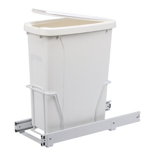 Knape&Vogt Single Pull-Out 5 Gallon Trash Can