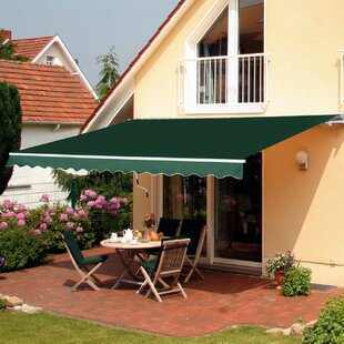 3.5 X 2.5m Retractable Patio Awning By Sol 72 Outdoor